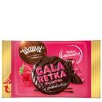 Цукерки Wawel малинові глазуровані чорним шоколадом ваг