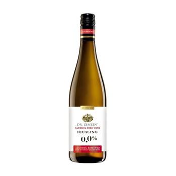 Вино Dr.Zenzen Deutscher Riesling біле солодке безалкогольне 0,75л - купити, ціни на Ашан - фото 2