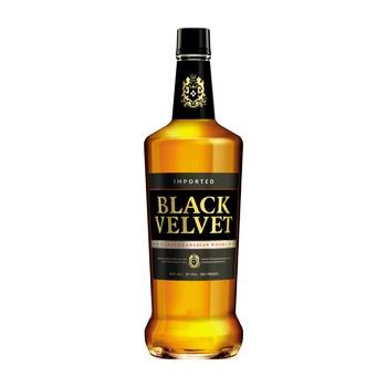 Віскі Black Velvet 3 роки 40% 1л - купити, ціни на МегаМаркет - фото 1