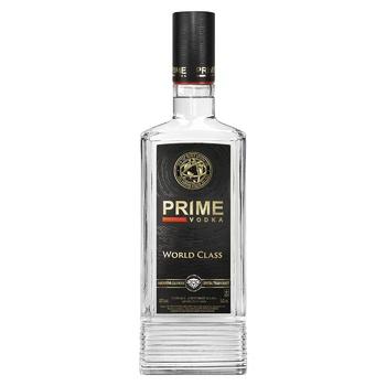 Горілка Prime World Class 40% 0.5л - купити, ціни на ЕКО Маркет - фото 1