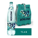 Sparkling medical-table water Borjomi plastic bottle 1l
