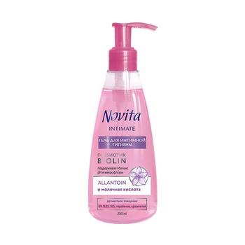 Гель Novita Intimate для интимной гигиены 250мл - купить, цены на Фуршет - фото 1