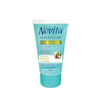 Cкраб для лица Novita Make Up&Care Anti-Pollution Эффект 150мл - купить, цены на Novus - фото 1
