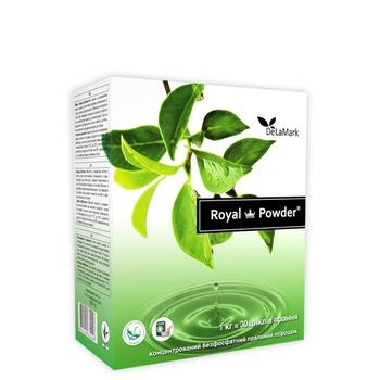 Порошок пральний Delamark Royal Powder універсальний концентрований безфосфатний 1кг - купити, ціни на CітіМаркет - фото 1