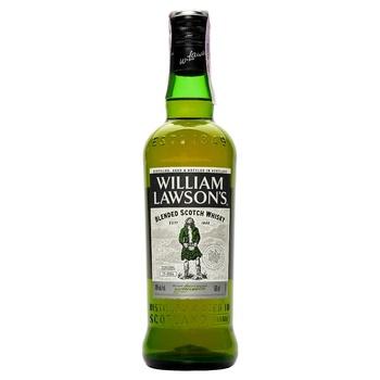Виски William Lawson's 40% 0.5л