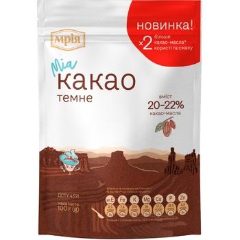 Какао-порошок Мрия 22% 100г