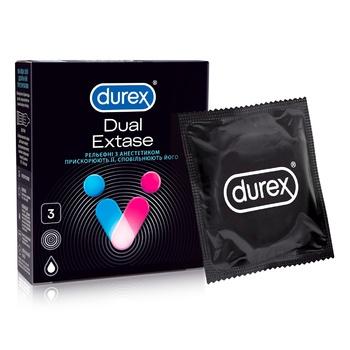 Durex Extase №3 Condoms 3pcs - buy, prices for MegaMarket - image 1