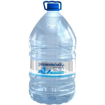 Мінеральна вода Знаменівська природна лікувально-столова негазована 5л - купити, ціни на CітіМаркет - фото 1