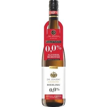 Вино Dr.Zenzen Deutscher Riesling белое сладкое безалкогольное 0,75л - купить, цены на Восторг - фото 1