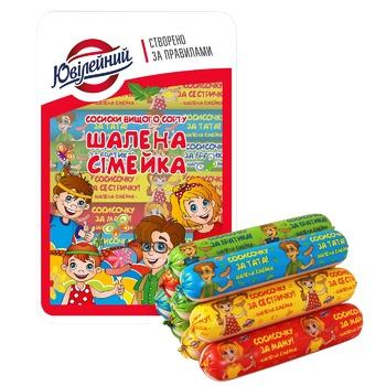 Yuvileynyi Shalena Simeyka Sausages 300g - buy, prices for Furshet - image 1