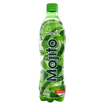 Напій безалкогольний Biola Mojito середньогазований 0,5л - купити, ціни на Novus - фото 1