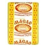 Масло Новгород-Северский Селянское сладкосливочное 73% 200г - купить, цены на Novus - фото 1