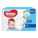 Подгузники Huggies Box Ultra Comfort 4 для мальчиков 8-14кг 100шт
