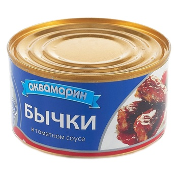 Akvamaryn Roasted In Tomato Sauce Gobies 230g - buy, prices for Novus - image 1