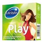 Презервативы LifeStyles Play латексные 3шт - купить, цены на Ашан - фото 1