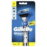 Бритва Gillette Mach3 Turbo 3D з 2 змінними касетами - купити, ціни на Восторг - фото 1