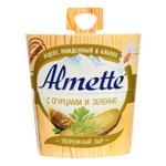 Крем-сир творожний Hochland Almeta з огірками та травами 60% 150г