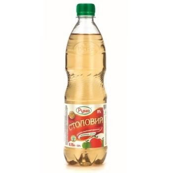 Vinegar Runa apple 750ml plastic bottle - buy, prices for Novus - image 1
