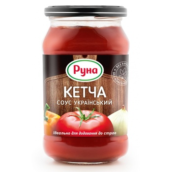 Runa Ketcha Sauce - buy, prices for MegaMarket - image 1