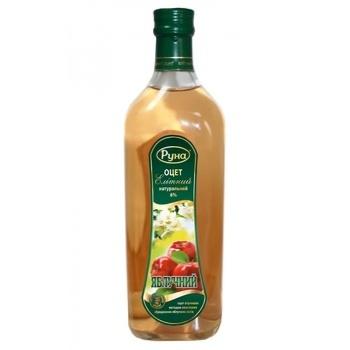 Уксус Руна Элитный Яблочный 6% 0,5л - купить, цены на Novus - фото 1