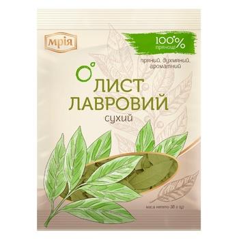 Лавровый лист Мрия сухой 10г - купить, цены на Novus - фото 1