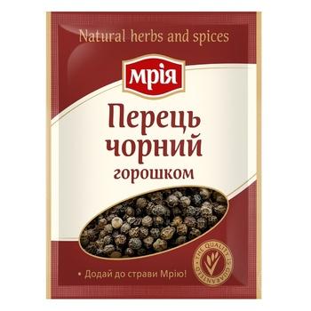 Перец черный Мрия горошком 20г - купить, цены на Novus - фото 1