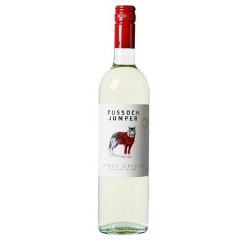 Вино Tussock Jumper Pinot Grigio белое сухое 12% 0,75л