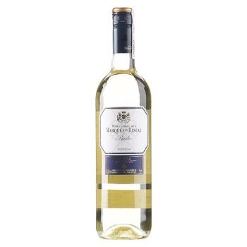 Вино Marques de Riscal Rueda 12.5% 0.75л - купити, ціни на CітіМаркет - фото 1