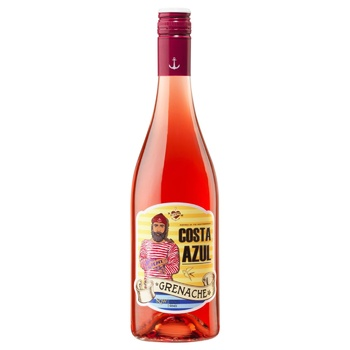 Costa Azul Grenache Pink Dry Wine 12.5% 0.75l - buy, prices for CityMarket - photo 1