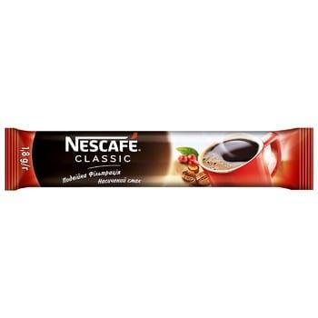 Кофе NESCAFÉ® Classic растворимый стик 1,8г - купить, цены на Фуршет - фото 1