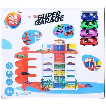 Іграшка One Two Fun супер гараж - купити, ціни на Ашан - фото 2