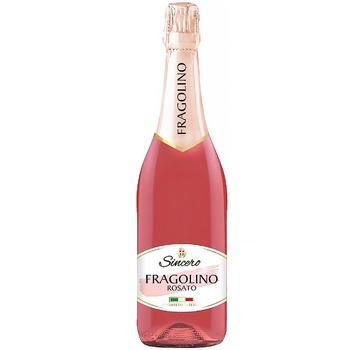 Напиток Sincero Fragolino Rosato на основе вина розовый полусладкий 7% 0,75л