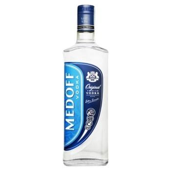 Водка Medoff оригинал 37.5% 0,5л - купить, цены на Восторг - фото 1