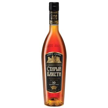Old Kaheti 10 years cognac 40% 0,5l - buy, prices for Novus - image 1