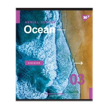 Тетрадь школьная Yes AQUA А5 18 страниц клеточка - купить, цены на Novus - фото 1