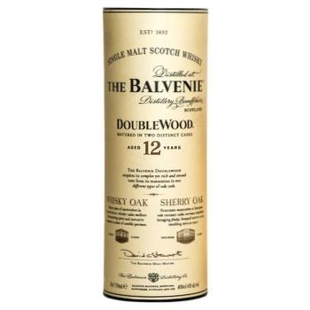 Виски Balvenie Double Wood 12 лет 40% 0.7л - купить, цены на МегаМаркет - фото 1