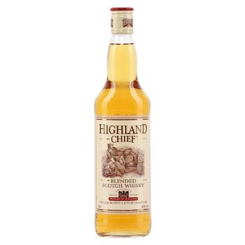 Виски Highland Chief 40% 0.7л 3года - купить, цены на СитиМаркет - фото 1