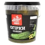 Chudova Marka Salt Cucumbers 600g