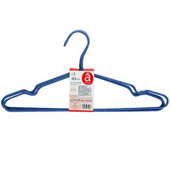Actuel Metal Set Hanger 3pc*40cm - buy, prices for Auchan - image 1