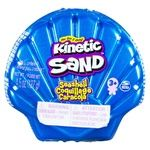 Песок для творчества Kinetic Sand Ракушка голубая