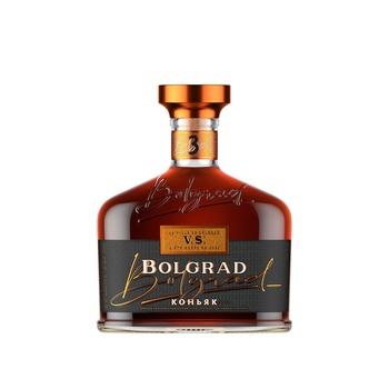 Bolgrad Ukrainian Ordinary 3 Stars Cognac 40% 0,5l
