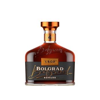 Bolgrad Ukrainian Ordinary 4 Stars Cognac 40% 0,5l