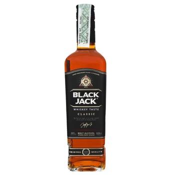 Виски Black Jack 40% 0,5л - купить, цены на Фуршет - фото 1