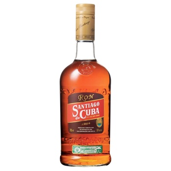 Santiago de Cuba Anejo Rum 38% 0,7l - buy, prices for CityMarket - photo 1