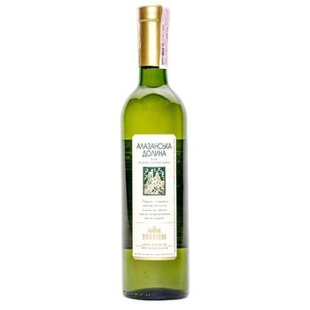 Vardiani Alazani Valley White Semi-Sweet White Wine 9-13% 0,75l - buy, prices for CityMarket - photo 1