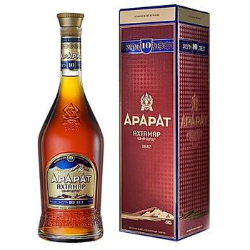 Ararat Ahtamar 10nYrs Cognac 40% 0.7l - buy, prices for Novus - image 1