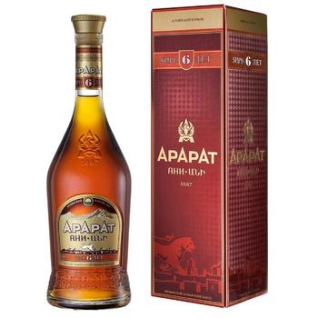 Ararat Ani 6 Yrs Cognac 40% 0.7l - buy, prices for Novus - image 1