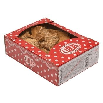 Печенье Лукас Грильяжное 500г - купить, цены на Novus - фото 1