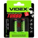 Батарейки Videx Alkaline Turbo AAА LR03 1.5V