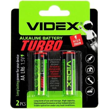 Videx Alkaline Turbo AA LR6 1.5V Batteries - buy, prices for CityMarket - photo 1